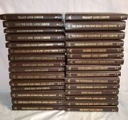 Lot 30 Books Louis L'amour Leather Leatherette Collection Lot Sackett Rustlers