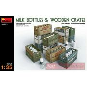 Assembly Kit Compatible With Milk Bottle And Wooden Crates Kit 135 Miniart Min355