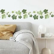 Fuyamp Ivy Wall Decals Vines Border Wall Decor Stickers For Kitchen Living Room