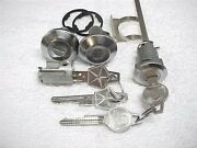 61 - 65 Restored Mopar Dodge Plymouth Door Ignition And Trunk Locks And Correct Keys