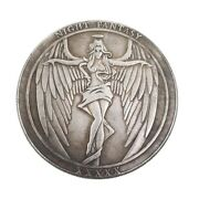Hobo Coin Angel Death Night Fantasy Usa Casted American Challenge Token Collect
