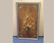 Shirley Temple Estate Hand Painted Wood Panel
