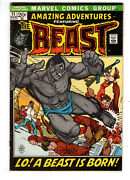 Amazing Adventures 11 1972 - Grade 5.0 - 1st Appearance Of Mutated Beast