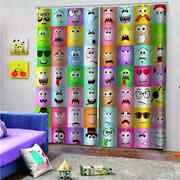 Lovely Expression Treasure House Printing 3d Blockout Curtains Fabric Window