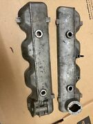 Fiat 124 131 Valve Cover Dohc With Smog Port You Get Left And Right In Great Shape