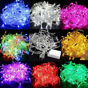 10m - 100m Waterproof Led Christmas Tree String Lights Party Garden Decor Lamp T