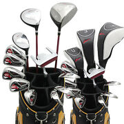 World Eagle G510 Cbx007 Cart Bag Men's Golf Club 16 Pieces Full Set For The