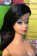 Vintage Reproduction Color Magic Barbie Midnight Color Nude Quality Doll New