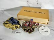 New/sold Out Louis Vuitton Be Mindful Scrunchy Chou Set