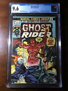 Ghost Rider 2 1973 - 1st Daimon Hellstrom - Cgc 9.6 - Key - White Pages