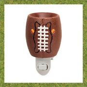 Scentsy Touchdown Football Wall Plug In Warmer Night Light Discontinued Sports