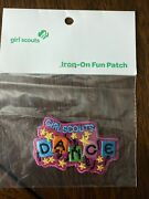 Lot Of 9- Girl Scout Dance Fun Patches
