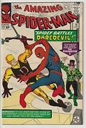 Amazing Spiderman 16 Vf 8.0 Gorgeous White Copy Deep Rich Cover Colors Wow