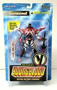 Youngblood Sentinel Ultra-action Figure 1995 Mcfarlane Toys Series 1 Sealed New