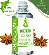 Pure Herbs 100 Pure And Natural Anise Star Lllicium Verum Essential Oils