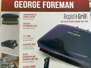 George Foreman Rapid Grill Series, 5-serving Removable Drip Tray Prem Nonstick