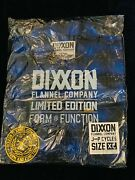 🦄 Rare Dixxon Xl Jandp 18 Cycles Flannel 🦄 New In Bag / Tag🔥ultimate Unicorn🔥