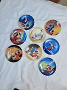 Knowles 50th Anniversary Disney's Fantasia Collector Plates Complete Set Of 8