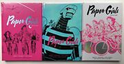 Paper Girls Deluxe Ed. Nm Volumes 1 2 3 Hardcover Vaughan Chiang Sealed Image