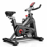 Indoor Exercise Bike Stationary 35 Lbs Flywheel450 Lbs Super Support Lcd