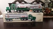 Texaco Sky Chief Oil Tanker Truck And Trailer Toy Truck Coin Bank One Of 8004
