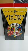 Dc Archives The New Teen Titans Vol. 2 Mint, 1st Printing, Oop, Hc