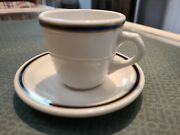 Rare Union Pacific Up Railroad Scammell China Cobalt Gold Service Demitasse Set