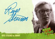 Night Of The Living Dead - Autograph A1 Russ Streiner As Johnny