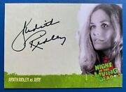 Night Of The Living Dead - Autograph A5 Judith Ridley As Judy