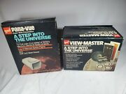 Viewmaster - A Step Into The Universe Gaf Pana-vue And View Master Complete