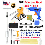81 X Pdr Tools Dent Puller Lifter Paintless Hai Ding Removal Repair Hammer Kits