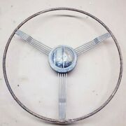 1938 Buick Gm Deluxe Banjo Steering Wheel 1936 1937 Oem Coupe Roadster Chevy
