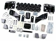 Zone Offroad D9345 3 Body Lift Kit For Dodge
