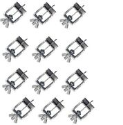 12 Pack Butt Welding Clamps Weld Sheet Metal Auto Care Skin Body Panel Fender