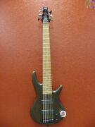 Ibanez Gsr206 Walnut Flat 6 String Bass Free Shippng To Lower Usa