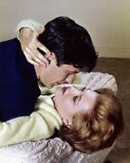 The Killers 1964 John Cassavetes About To Kiss Angie Dickinson On Bed Poster
