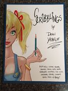 Dean Yeagle Scribblings 1 2003 Softcover Sketchbook Signed Mature Mandy Nm