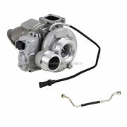 For Dodge Ram 6.7l 2013-2015 Turbo W/ Turbocharger Actuator And Oil Feed Line Tcp