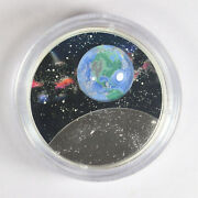 2020 Canada Canadian Silver 1 Oz Mother Earth Our Home Glow In The Dark Coin