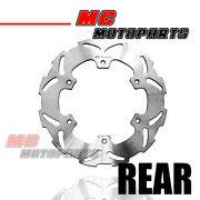 Solid Rear Brake Disc Rotor For Yamaha Wr 125 89-97 89 90 91 92 93 94 95 96