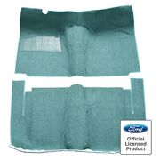 For Edsel Ranger 58 Carpet Essex Replacement Cut And Sewn Black Complete Carpet