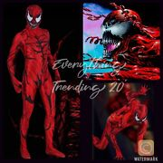 Kids Carnage Costume Venom Cosplay Ships Out Next Day Via Express Shipping Only