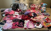 Lot Dog Clothes Xs-smalljuicy Couture Leather Carrier All Excellent
