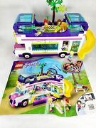 Incomplete Lego Friends Friendship Bus 41395 With Manual And Minifigures
