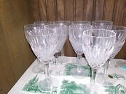 Waterford Crystal Castlemaine Claret Wine Glasses Set Of 10