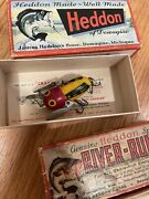 Vintage Heddon Bagleyandrsquos And More Fishing Lure Lot Rare