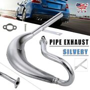 80cc 100cc Motorized Bike Big Fatty Pipe Exhaust W/expansion For Motor Kits Us