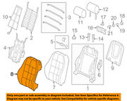 Audi Oem 13-16 Q5 Front Seat-cushion Cover-top Back Left 8r0881805ajixw