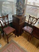 Pair Of Art Nouveau Side Chairs Attributed To Victor Horta 1861-1947 Antique