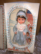 Migliorati Vintage Milchi First Teeth 16 Doll Blue Dress 1960and039s Made In Italy